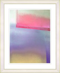 Umfolozi - Red by Zhee Singer Framed Fine Art Giclee Painting Print