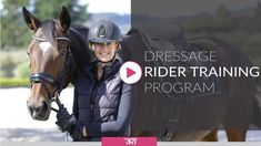 A Complete Dressage Rider Fitness Program designed to take you to the next level in your horse riding ability. Be the best dressage rider you can be! Dressage Equestrian Arabian horses Wild horses Quarter horses Draft horses Black horses Friesian horse White horses Andalusian horse Palomino Hunter jumper Wild mustangs Blue roan Clydesdale Pet photography Animals French bulldogs Husky Corgi puppies