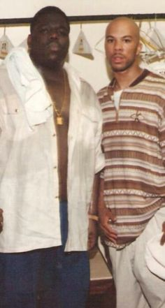 Biggie Smalls & Common - Two of the greatest and most influential rappers Rap Music, I Love Music, Music Is Life, Love N Hip Hop, Hip Hop And R&b, 90s Hip Hop, Hip Hop Rap, Hip Hop Artists, Music Artists