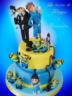despicable me 2 - Cake by filippa zingale