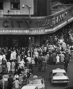 Radio City Music Hall - New York City, #photography, #travel, #vintage