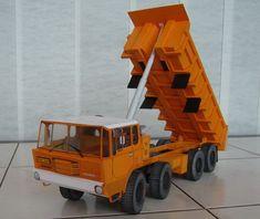 Tatra 813 8x8 S1 Truck Free Vehicle Paper Model Download
