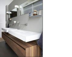Mooie badkamer met Marike wastafels