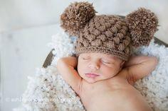 Infant crotchet hat