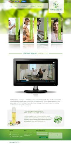 Physiotherapy Bio Center  website by elvienlaharsyah