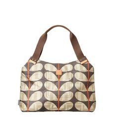 england based orla kiely offers a variety of bags and styles.  my favorite, the shoulder bad.  the patterns change regularly, watch out you might get addicted.