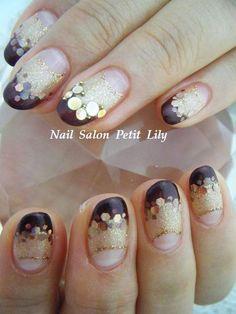 Pretty autumn nail art