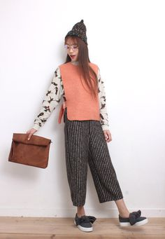 Asymmetric Knit Vest http://www.drive-store.com/collections/smart-casual/products/asymmetricknitvest