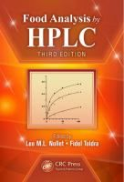 Food Analysis by HPLC [Recurso electrónico] / edited by Leo M.L. Nollet, Fidel Toldra