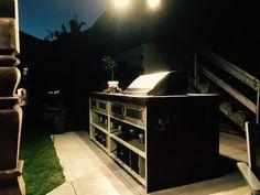 NINASIMON - Außenküche - Schwemmholz - Vintage - BBQ Buffet, Bbq, Vintage, Furniture, Home Decor, Barbecue, Homemade Home Decor, Barbacoa, Barrel Smoker
