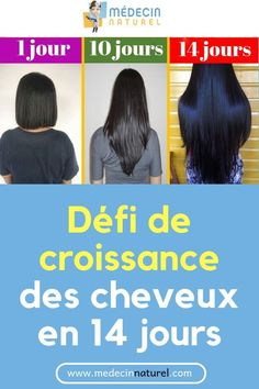 Défi de croissance des cheveux en 14 jours, You can collect images you discovered organize them, add your own ideas to your collections and share with other people. Deodorant For Women, Natural Deodorant, Curly Hair Styles, Natural Hair Styles, Hair Tools, Grow Hair, About Hair, Ombre Hair, Glowing Skin