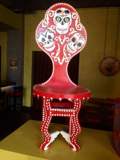 Our friends at Mayahuel Restaurant & Tequila Museum will be bring delicious refreshments and a special folk art chair display to the Day of the Dead party on Friday, Oct. 25 from 5:30-8:30 pm. $5 advance tickets available at https://dayofthedeadcalifornia.eventbrite.com/ or $10 at the door. Hope to see you there!