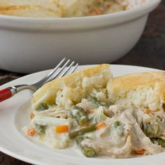 Comfort Food Recipe: Chicken Pot Pie with Biscuit Topping Recipes from The Kitchn