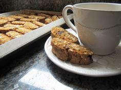 Christmas Cookie Favorites: Gingerbread Biscotti | Squash Blossom Kitchens