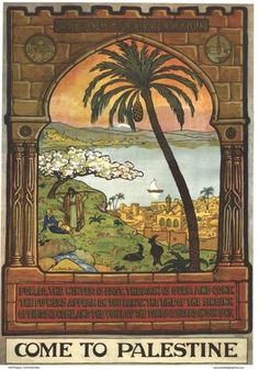 These 1930s Palestine posters