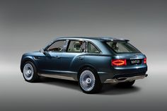 Yes, This Is A Bentley SUV. Keep Playing The Lottery | Co.Design: business + innovation + design