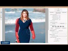 Aprende a Como Adelgazar en Photoshop Tutorial de Photoshop - YouTube