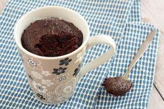 Chocolade mug cake - Laura's Bakery