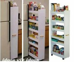 Kitchen Storage Ideas That Will Enhance Your Space Pull Out Pantry within size 1280 X 720 Kitchen Pantry Cabinet Pull Out Shelves - To find fantastic Kitchen Pantry Storage, Kitchen Pantry Cabinets, Kitchen Storage Solutions, Kitchen Drawers, Diy Cabinets, Kitchen Organization, Pantry Shelving, Small Pantry, Glass Kitchen Cabinet Doors