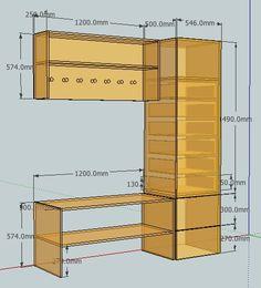 Tutorial: Design furniture with Google Sketchup