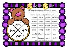 A fun 2 player game to reinforce the silent letter blends of mb, kn, gn and wr.Become a follower to receive updates on more FREEBIES!If you like this resource, please view other silent letter blend resources at my store! silent letter blends resources