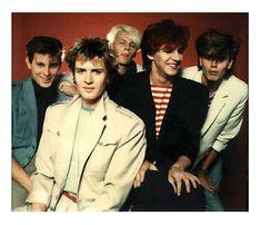 From JT's Scrapbook via Duran, early days John Taylor, Roger Taylor, Nick Rhodes, Simon Le Bon, Great Bands, Cool Bands, Birmingham, Uk Singles Chart, Fab Five