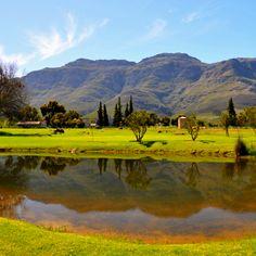 South Africa wine country - Stellenbosch