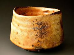 Akira Satake - chawan- stoneware -shino woodfired