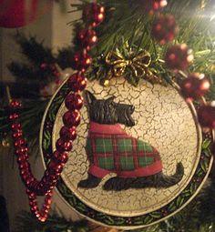 Love my scottie Christmas tree!