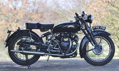 Last off the production line,1955 Vincent 998cc Black Shadow Series C Frame no. RC12571B Engine no. F10AB/1B/10671