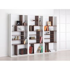 Furniture of America Bart Multi-tiered Modern Display Bookshelf - 13133604 - Overstock.com Shopping - Great Deals on Furniture of America Media/Bookshelves