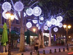 Decorated trees in France | Blachere Illumination