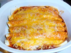 cooked enchiladas by renaelyn, via Flickr