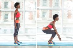 6 Easy Workout Moves to Do at Home: Glamour.com
