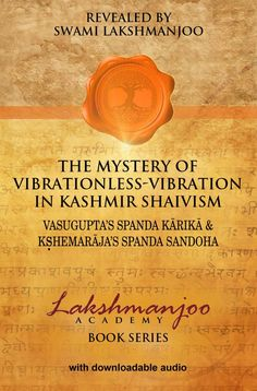 Spanda book Swami Lakshmanjoo