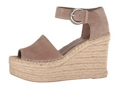 582fd169b1cb Marc Fisher LTD Alida Espadrille Wedge Women s Shoes Taupe Suede