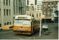 ARA, Trolley on the Farmers Free bus service Auckland, Daily News, Buses, Farmers, New Zealand, 1970s, Transportation, Public, Urban
