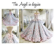 """""""The Angel in disguise"""" by detroitis8mile ❤ liked on Polyvore featuring MAK"""