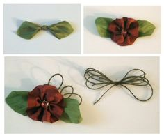 Crafting with Darsie: Wishing you happiness...silk rose ribbon tutorial