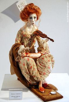 Russian Artist...Gorbunova Natalia...the details on this doll are incredible!
