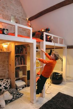 mommo design: SLEEP AND PLAY - Loft Beds
