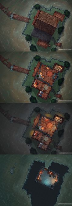 Building Link 499266308694425949 - Source by ademoissac Fantasy City Map, Fantasy House, Dnd Dragons, D&d Dungeons And Dragons, House Map, Hut House, Dnd World Map, Pathfinder Maps, Building Map