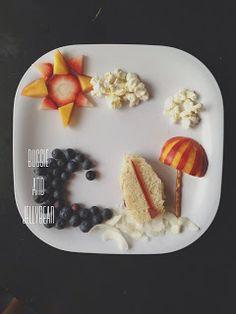 Craftykins // Food Art with Buggie and Jellybean Cute Snacks, Cute Food, I Love Food, Good Food, Yummy Food, Mabon, Edible Food, Edible Art, Food Carving