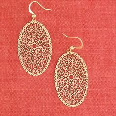 Online Shopping For LAVISHY Unique And Beautiful Filigree Earrings – LAVISHY Boutique Filigree Earrings, Pendant Earrings, Drop Earrings, Tech Accessories, Fashion Accessories, Fashion Jewelry, How To Make Light, Gifts For Family, Custom Jewelry