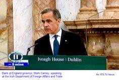 BoE governor Carney is an EU federalist Bank Of England, January, Self