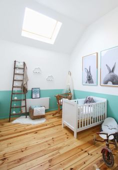 The Loft of Marien and Viviene is an eclectically visual home experience in France - Home Revolution Nursery Room, Baby Room, Nursery Decor, Room Decor, Nursery Ideas, Loft House, Empty Spaces, Interior Decorating, Interior Design
