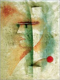 Paul Klee Premium-Poster Das Meer im Regen