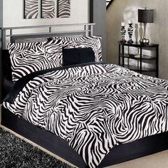 zebra bedroom sets