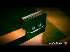 Album Alice In Wonderland - Tim Burton DYI Scrapbooking - YouTube