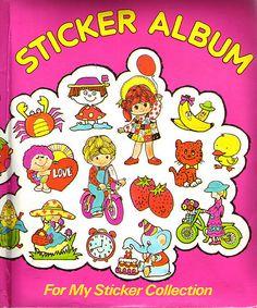 Sticker Albums- I had this album'